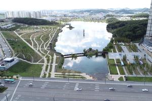 경기도시공사, 동탄호수공원, 대한민국의 새로운 공원모델 제시