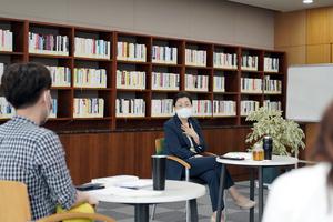 성남시 은수미 성남시장, '창조적 사고' 주제로 브라운 백 미팅 가져