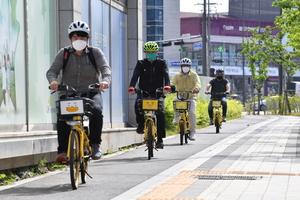 하남시 김상호시장 '직접 살핀다', 자전거도로 로드체킹