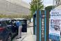 용인시, 미르스타디움 야외 주차장에 차량용 실내 소독기 설치